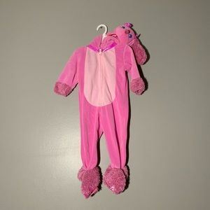 Pink Poodle Girls costume!